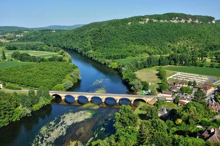 aquitaine: France, Dordogne valley in Castelnaud la Chapelle
