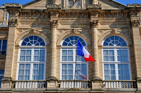 France, the city hall of Sees in Normandie