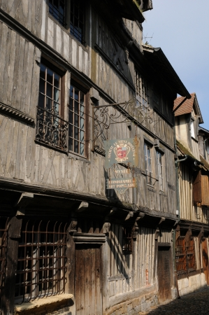 basse normandy: France, the museum of old Honfleur in Normandy
