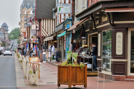 France, the city of Houlgate in Normandie