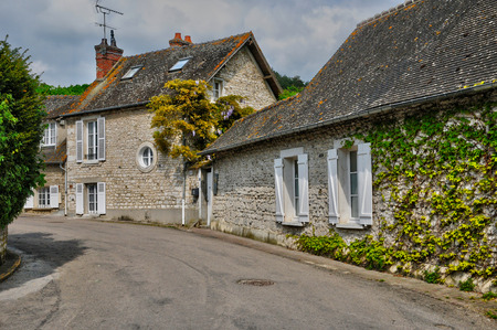 Frankrijk, het dorp Giverny in Eure