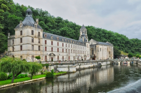 France, the abbey church of Brantome