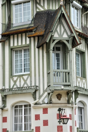 basse normandy: France, the Hotel Normandy Barriere in Deauville in Normandie Editorial