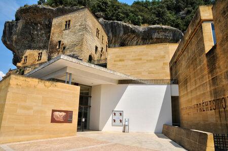 prehistoria: Francia, museo prehistoria en el pueblo de Les Eyzies de Tayac Sireuil