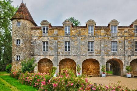 cole: France, the picturesque castle of Saint Jean de Cole