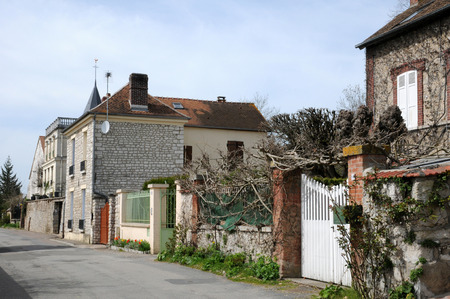 France, the picturesque village of Giverny in Normandie