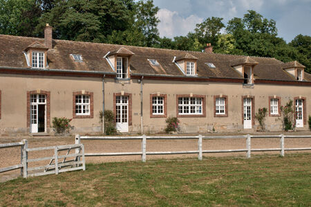 nationale: France, the picturesque Bergerie Nationale of Rambouillet