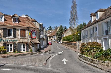 leger: France, the picturesque village of Saint Leger en Yvelines  Editorial