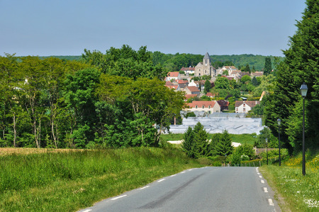 en: France, the picturesque village of Lainville en Vexin