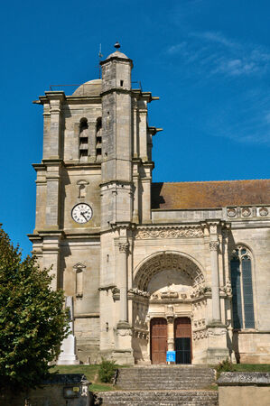 curch: France, the picturesque saint martin curch of Montjavoult in Picardie