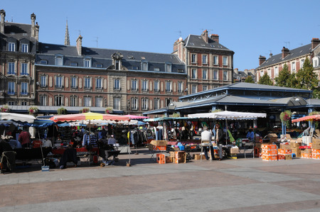 marc: France, Saint Marc square of Rouen in Seine Maritime Editorial