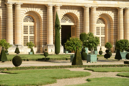 France,  the classical Versailles palace Orangery