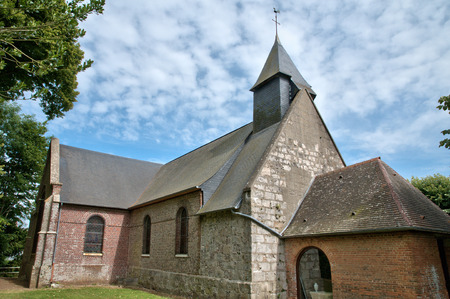 les: France, the picturesque village of Les Hogues