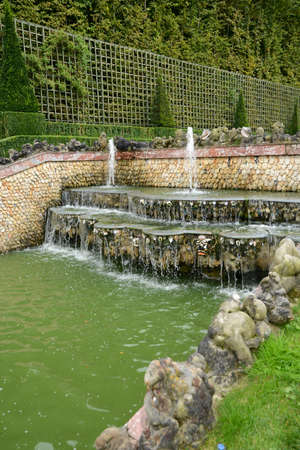 Ile de France, Three Fountains grove in Versailles Palace park