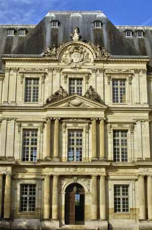 et: France; the renaissance castle of Blois in Loir et Cher