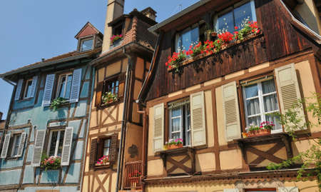 haut: France, the picturesque city of Colmar in Haut Rhin