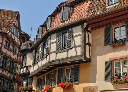 haut rhin: France, the picturesque city of Colmar in Haut Rhin
