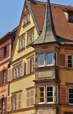 haut rhin: France, the picturesque city of Colmar in Haut Rhin
