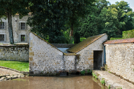 washhouse: France, the picturesque village of Themericourt