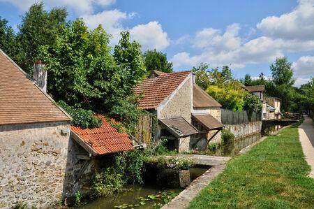 washhouse: Ile de France, the picturesque village of Chevreuse