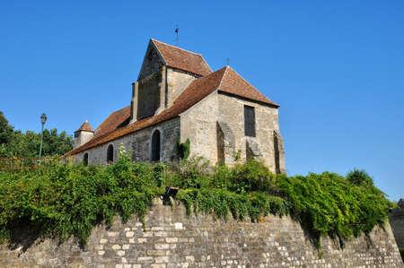 contryside: Ile de France, the picturesque village of Vallangoujar