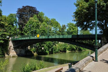 contryside: Ile de France, the picturesque city of L Isle Adam