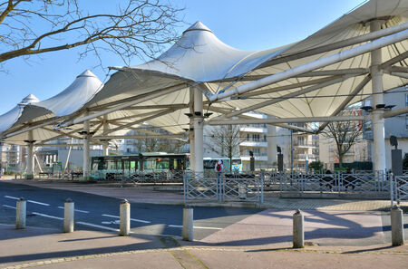 pontoise: Ile de France, the city of Cergy in Val d Oise