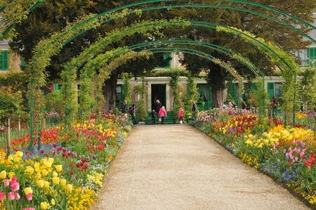France, the Monet house in Giverny in Normandie Archivio Fotografico