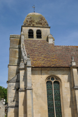 Ile de France, the village of Guiry en Vexin in Val d Oise Stock Photo - 28280684