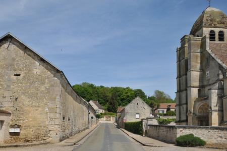 Ile de France, the village of Guiry en Vexin in Val d Oise Stock Photo - 28280775