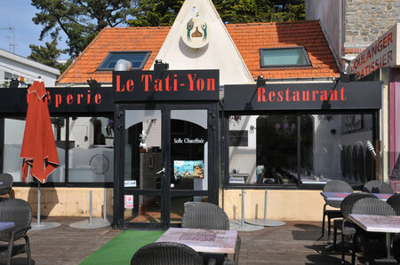 marc: France,  restaurant in Saint Marc sur Mer in  Loire Atlantique Editorial