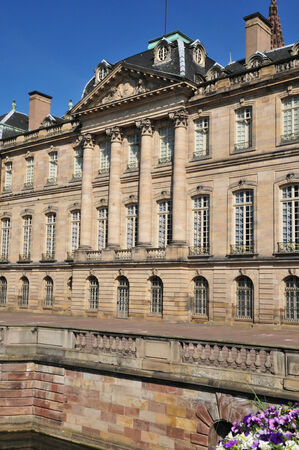 bas: France, the Rohan Palace in Strasbourg in Bas Rhin  Editorial