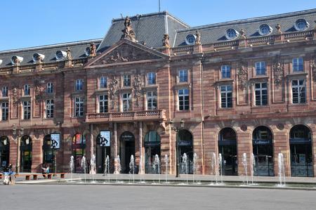 bas: France, the Kleber square in Strasbourg in Bas Rhin