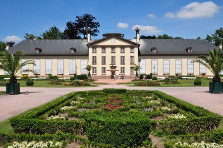 bas: France, the Parc de l Orangerie of Strasbourg in Bas Rhin  Editorial