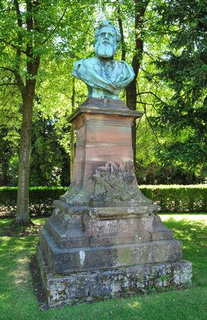 bas: France, the Parc de l Orangerie of Strasbourg in Bas Rhin  Stock Photo