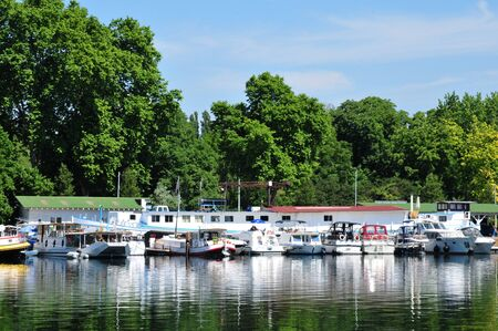 bas: France, the picturesque port of Strasbourg in Bas Rhin