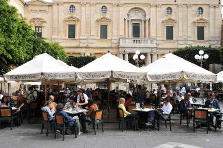 Republic of Malta, the picturesque city of Valetta Editorial
