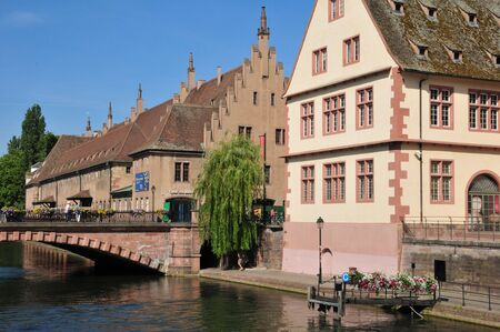 bas: France, the picturesque city of Strasbourg in Bas Rhin