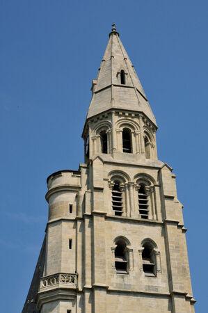 collegiate: collegiate church of Poissy in Les Yvelines