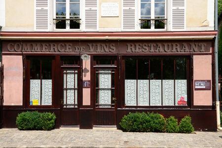 van gogh: Ile de France, the auberge Ravoux in Auvers sur Oise where Vincent Van Gogh died
