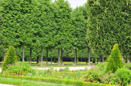 en: Ile de France, castle park in Saint Germain en Laye