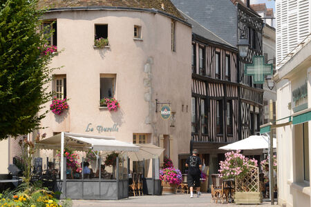 et: Eure et Loir, the picturesque city of Dreux