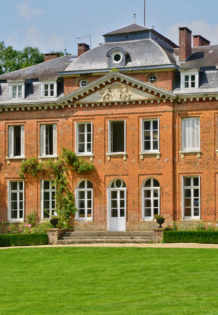 bois: France, the picturesque castle of Bois Guilbert Editorial