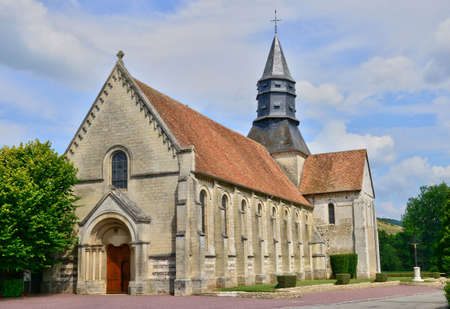 marché: France, the picturesque church of Neuf Marche