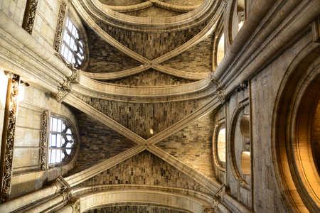 collegiate: Ile de France, the collegiate church of Poissy Editorial
