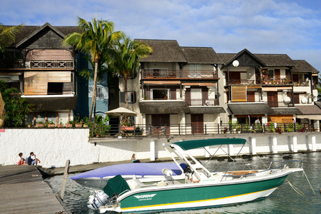 great bay: Africa, the great bay coast in Mauritius Island Editorial