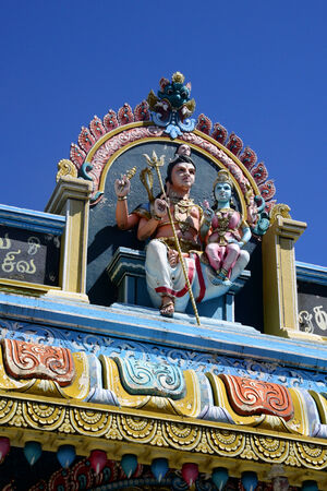 great bay: Africa, great bay indian temple in Mauritius Island
