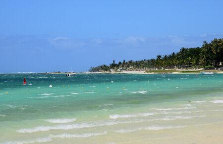 yegua: Mauricio, la pintoresca playa de Belle Mare