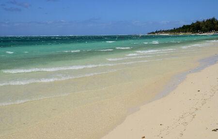 mauritius: Mauritius, the picturesque beach of Belle Mare