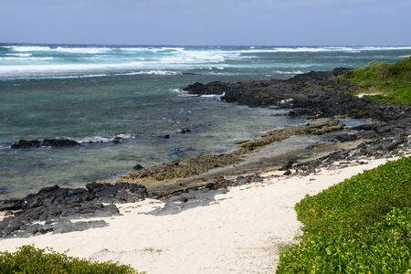 mauritius: Mauritius, the picturesque village of Roches Noires